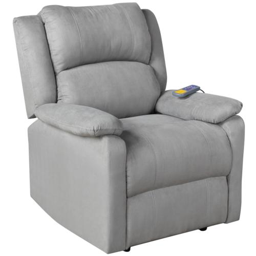 Electric Gravity Massage Recliner Heat Stretched Foot