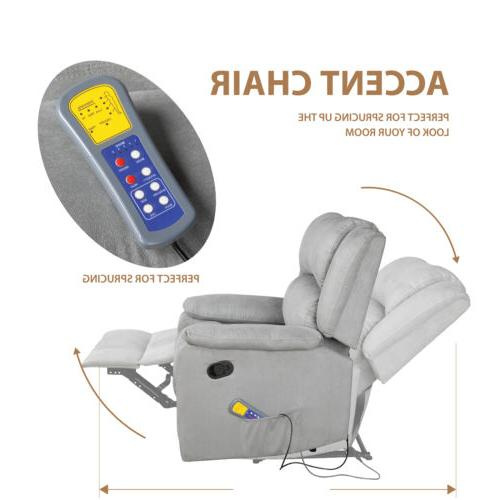 Electric Body Zero Gravity Massage Heat Rest