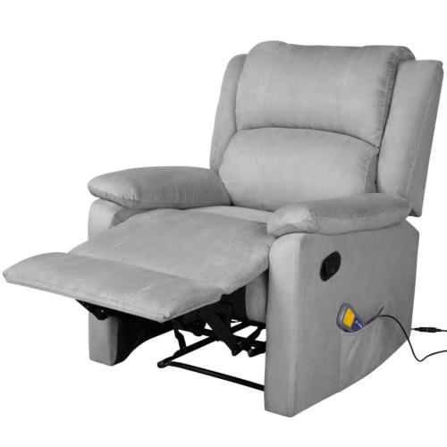 Electric Full Gravity Recliner Heat Stretched Foot