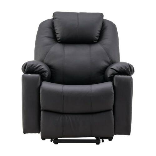 Electric Chair Armchair PU Leather