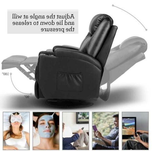 Massage Recliner Vibrating Ergonomic Lounge