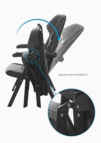 Sharper Image Foldable Massage Chair, to Save Space