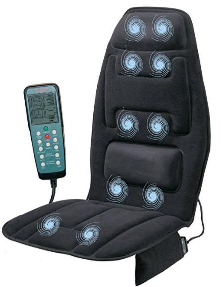 Full Body Massage Seat Cushion Electric Chair Cover Portable