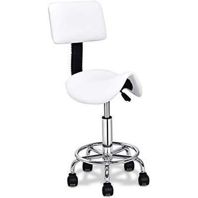 hydraulic salon stool rolling saddle chair