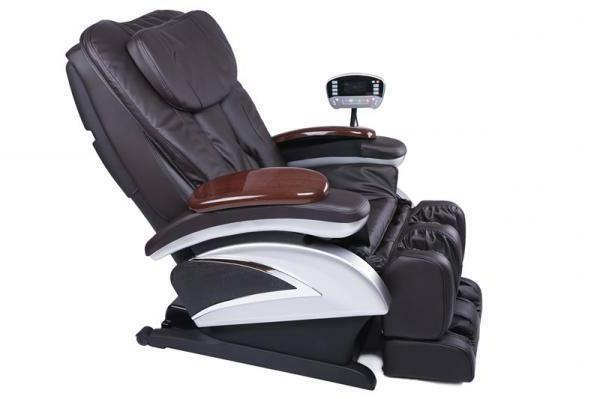 luxury full body shiatsu massage therapy chair