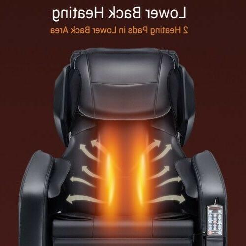 Massage Chair , Zero Gravity Full Shiatsu Massage with Foot Rollers