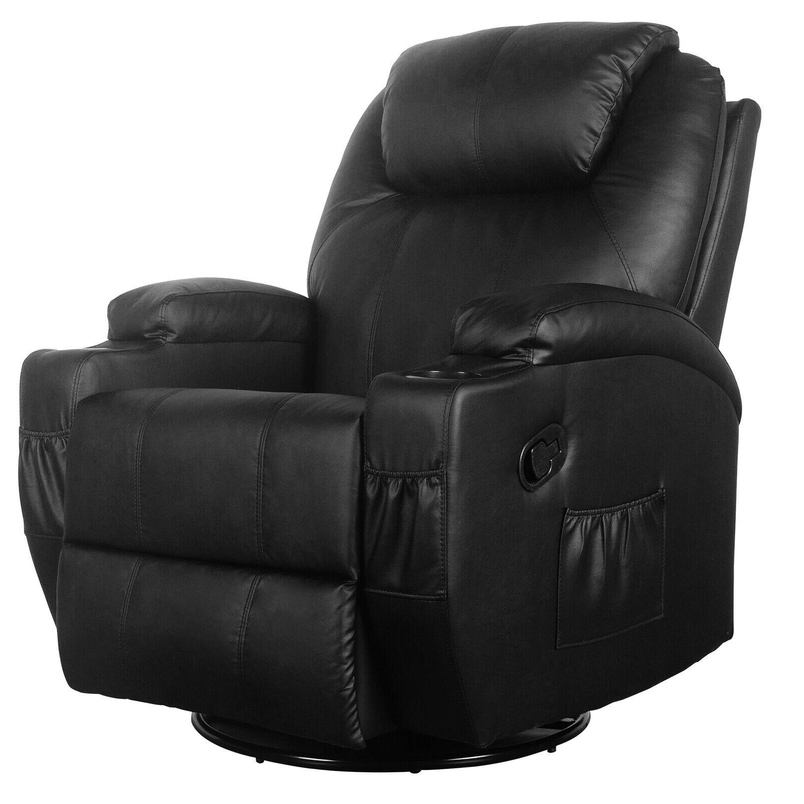 Massage Chair Heated Ergonomic Swivel