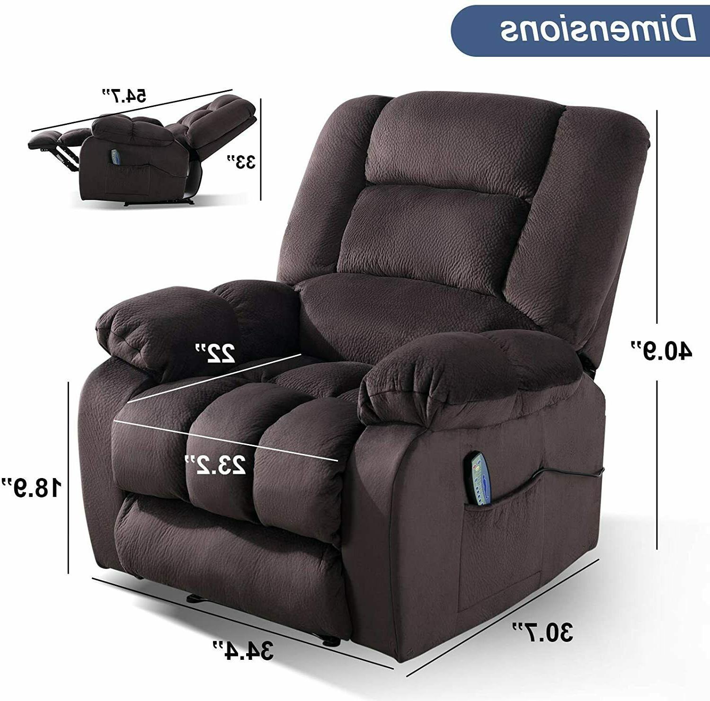 Massage Recliner Massage Heat Elderly Lounge Chair