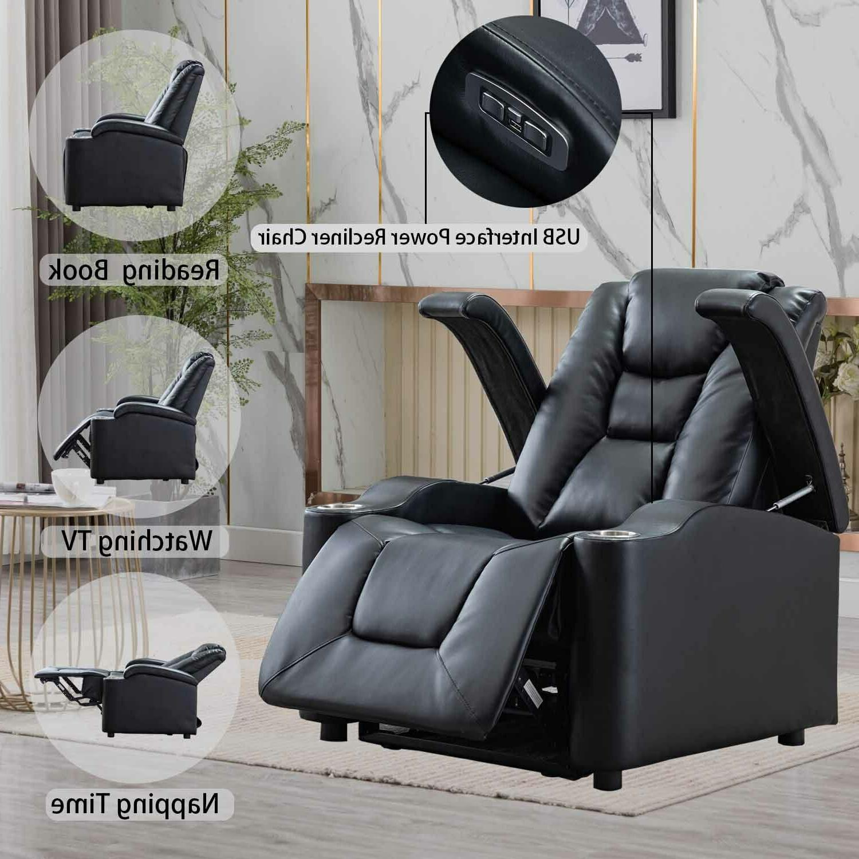 massage recliner chair with massage heat