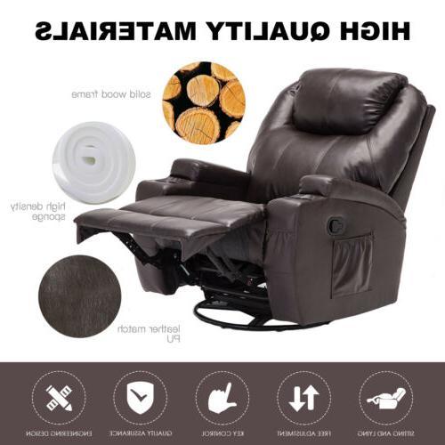 Massage Vibrating Headrest Brown