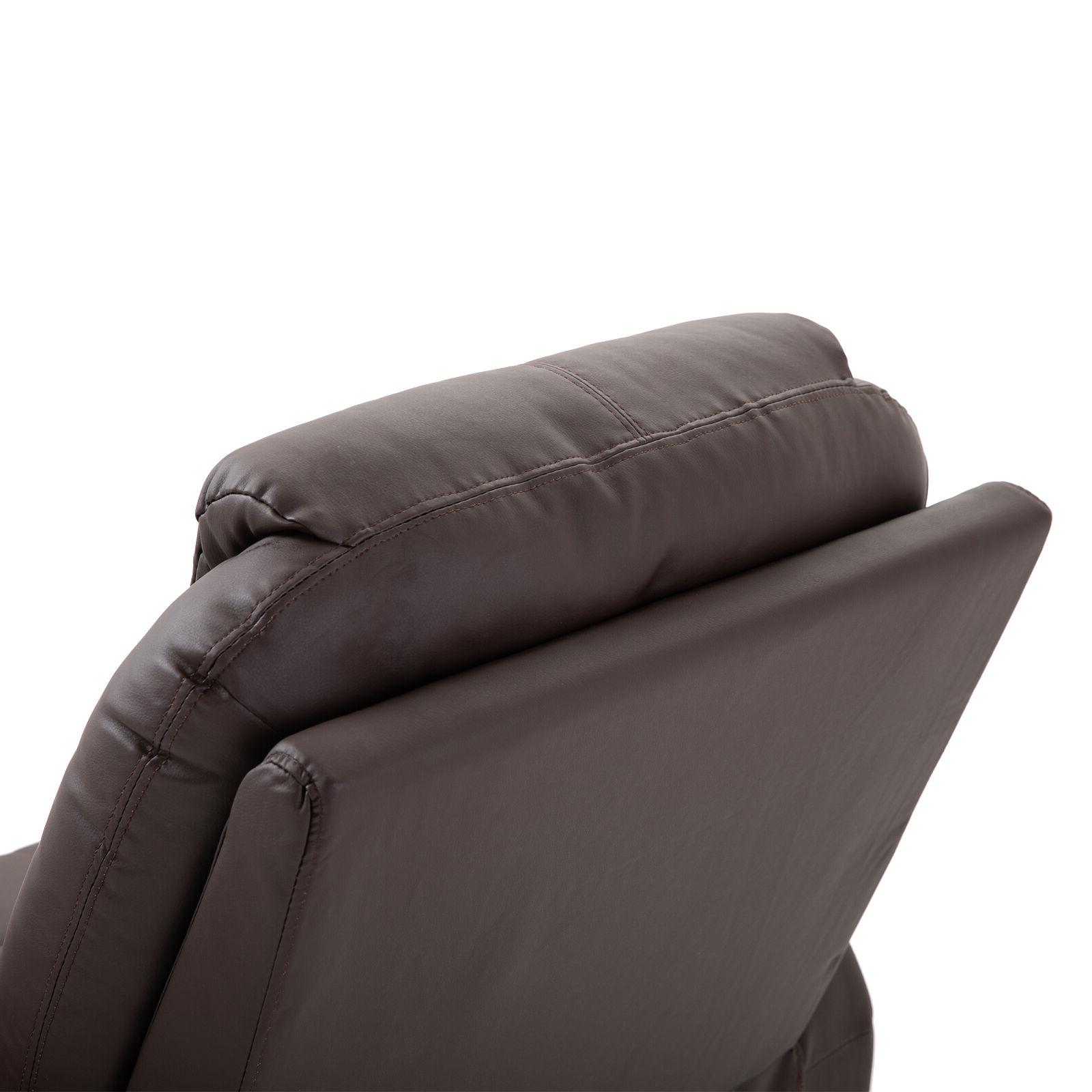 Massage Vibrating Heated Chair with Remote Control