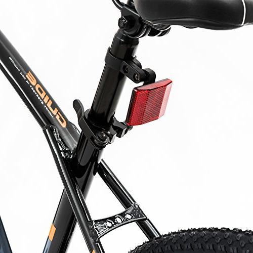 Uenjoy Bike Men's and Speed Fast 21 Hardtail Bicycle Mag Wheel Bike, Orange Black