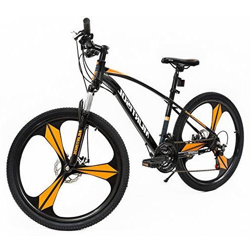 Uenjoy Murtisol Men's and Women's Speed Fast Lightning 21 Bicycle Mag Bike,