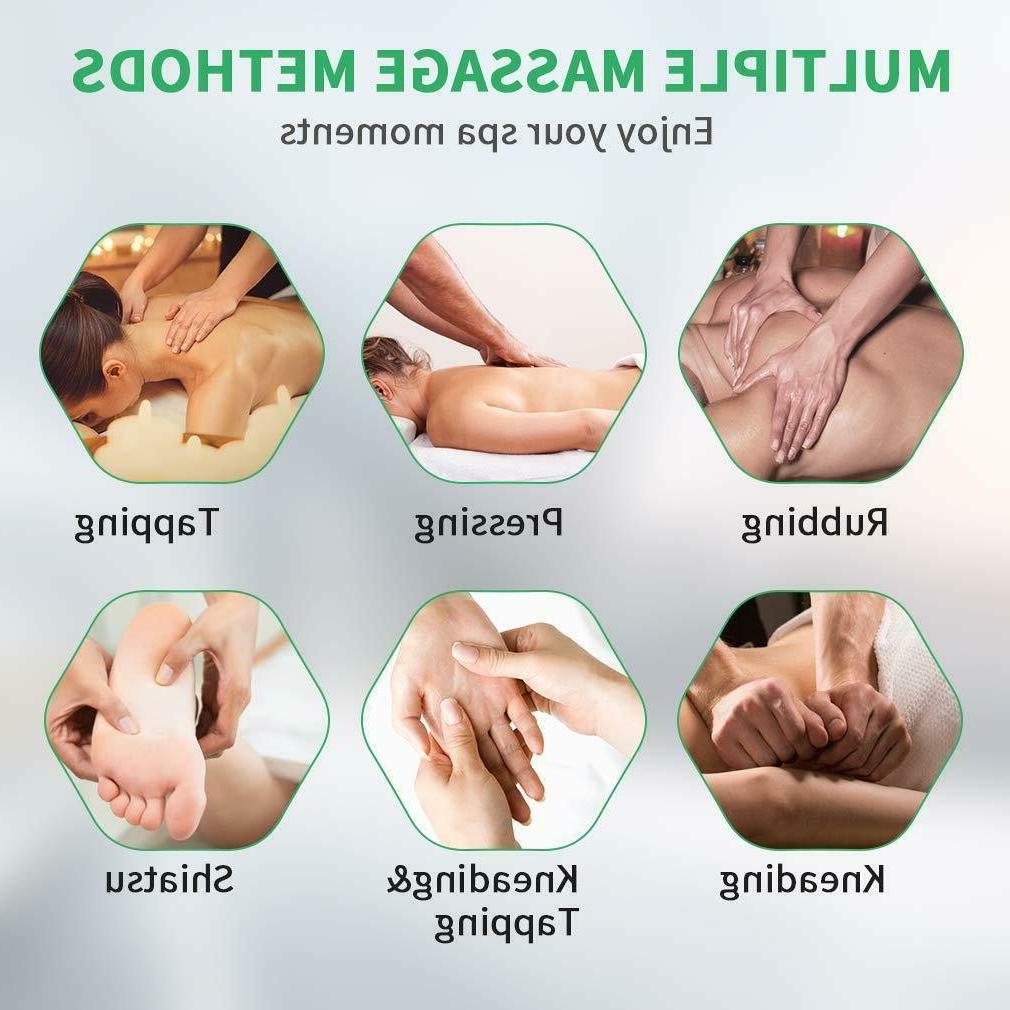New Electric Shiatsu Massage Recliner Heat Foot Rest