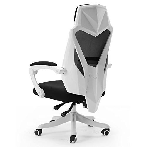 Chair Swivel Gaming - White