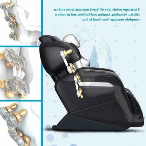 OOTORI Massage Body Approved Recliner