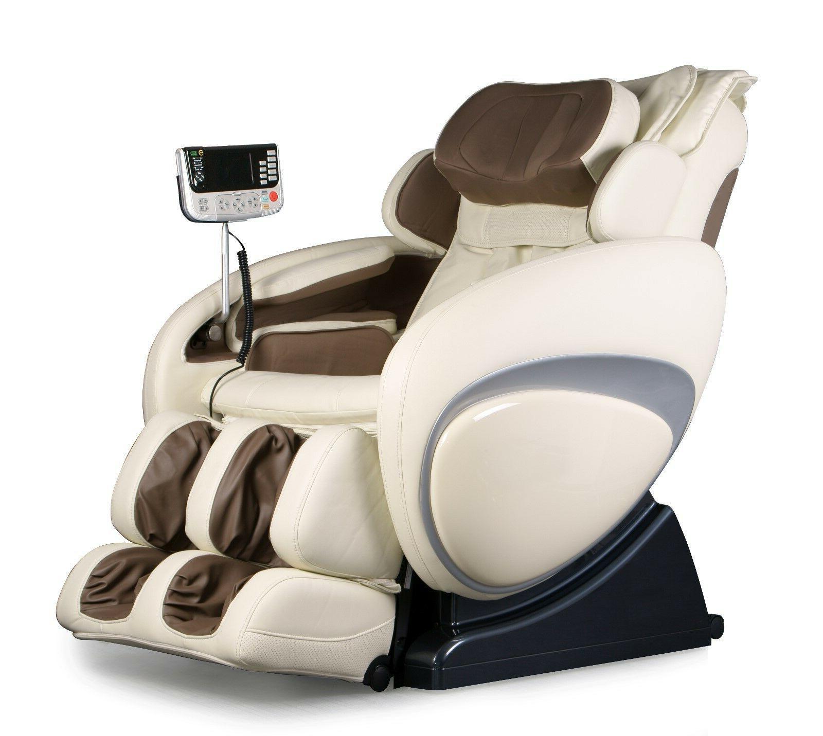 Osaki OS-4000 Cream Zero Gravity Massage Chair Recliner + 3Y