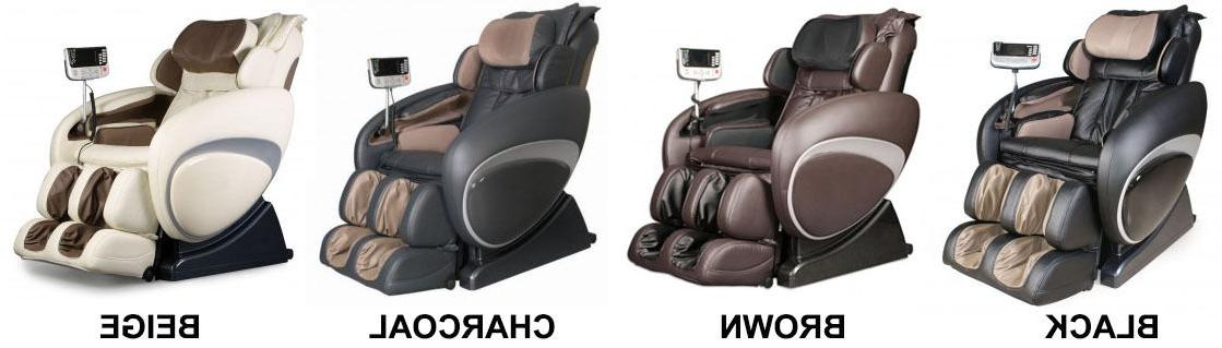 New OS-4000T Zero Massage Recliner + Foot Rollers