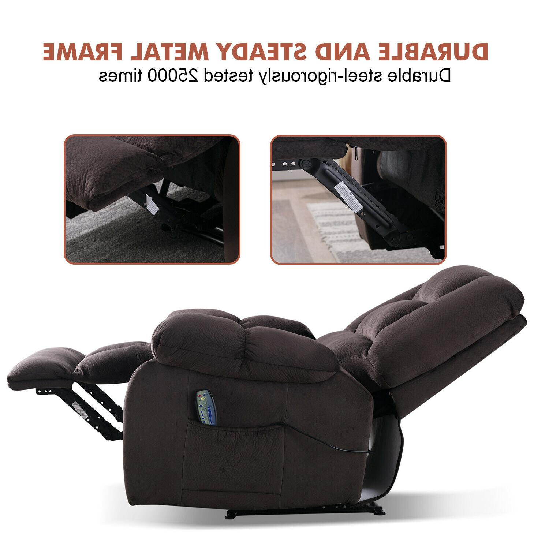 "Fabric Chair w/Heated 23""W"