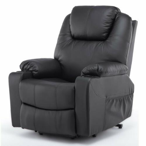 Furgle Power Lift Recliner Chair with Massage Heat and Vibra