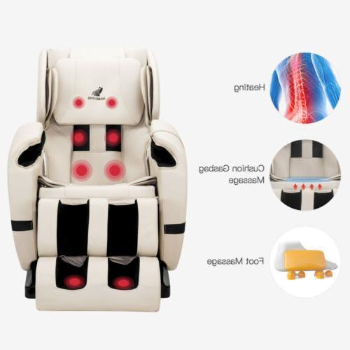 Deluxe Body Massage Recliner Gravity Foot Rest