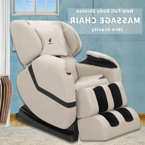 recliner full body shiatsu massage chair zero