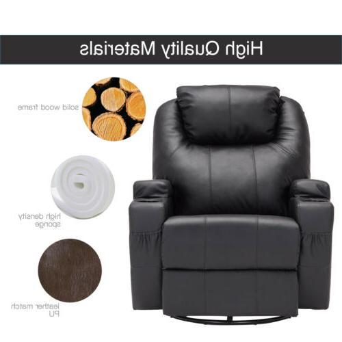 Recliner Massage Sofa Ergonomic with Control