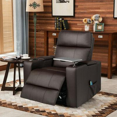 Relax Massage With Swivel Tray Remote Control Coffee
