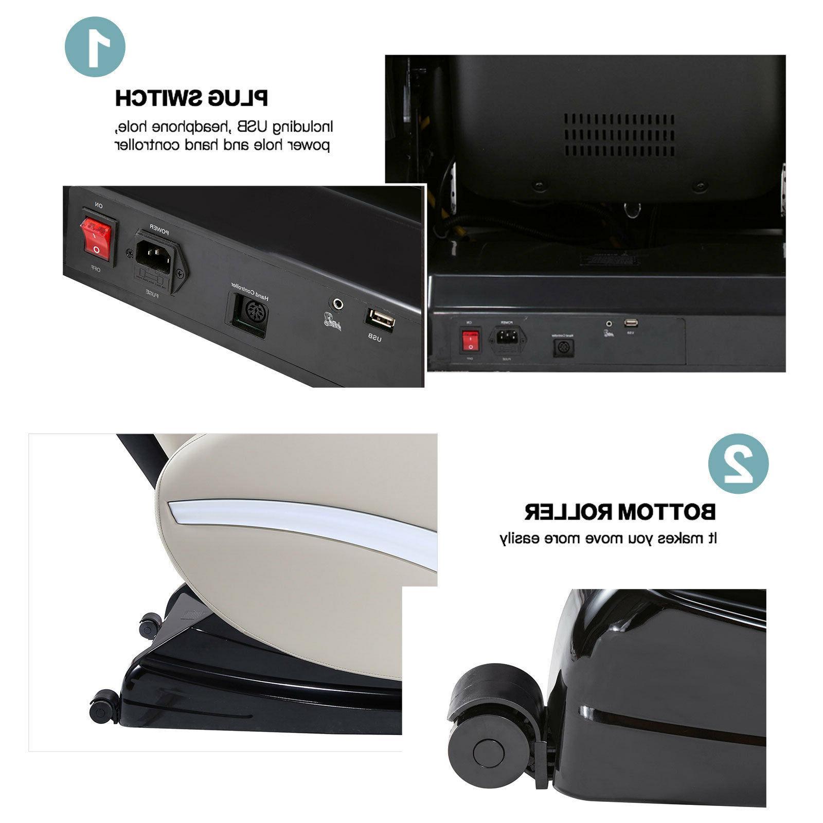 Deluxe Full Electric Massage ZERO with Heat