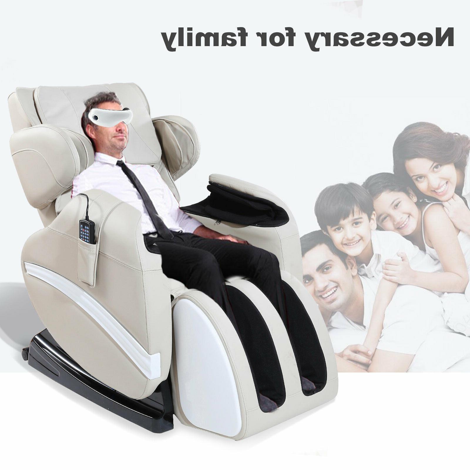 Deluxe Electric Massage Recliner ZERO Gravity