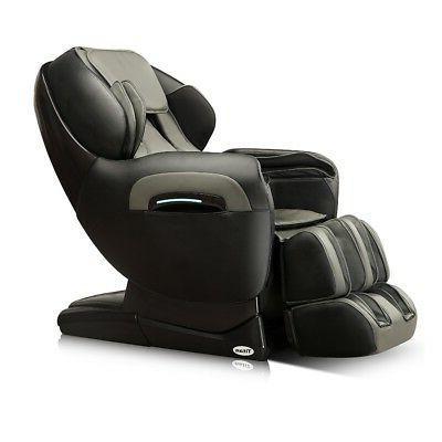 Titan TP-8400 Brown Deluxe Reclining Zero Gravity Massage Ch