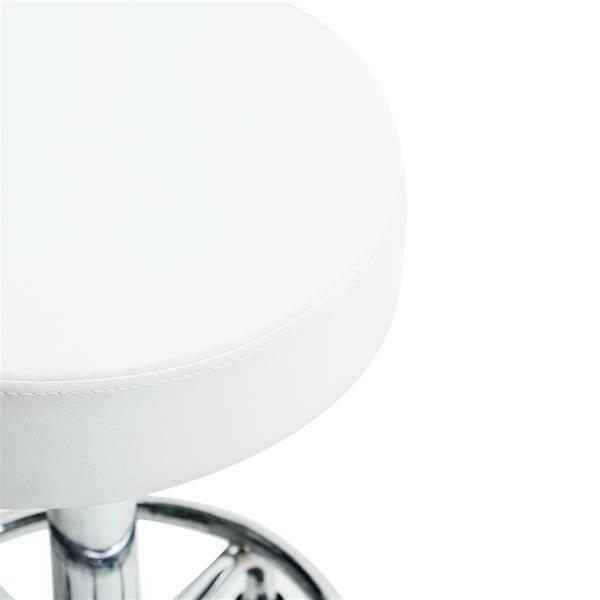 US Adjustable Rotating Chair Rolling Salon Pub Bar