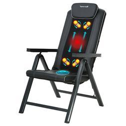 Massage chair Adjustable Shiatsu Kneading Folding  Seat Vibr