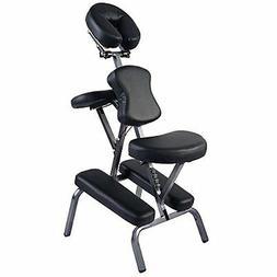 Giantex Massage Chair, Blk Tattoo Spa Adjustable Salon, Pu L