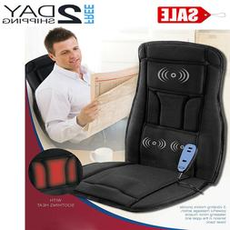 Massage Chair Pad Cushion With Heating For Back Pain Office