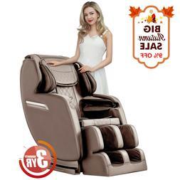 Massage Chair Recliner, S-track Zero Gravity Full Body Shiat