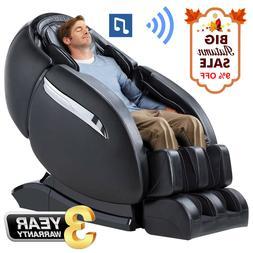 Massage Chair Recliner, Zero Gravity SL-Track, 3D Robot Hand