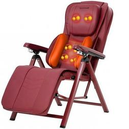 Massage Chair Shiatsu Kneading Folding Portable Adjustable S