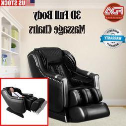 Massage Chair SL Track Zero Gravity 3D Full Body Recliner wi