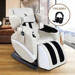 Electric Full Body Massage Chair Zero Gravity Shiatsu Reclin