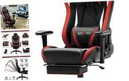 Ficmax Massage Gaming Chair Ergonomic Computer Gaming Chair
