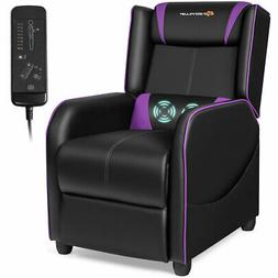 Massage Gaming Recliner Chair Single Living Room Sofa Home T
