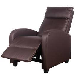 Massage Recliner Chair PU Leather Rocker Recliner Ergonomic