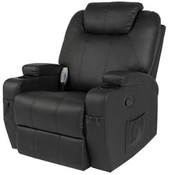 Best Choice Products Massage Recliner Sofa Chair Heated W/Co