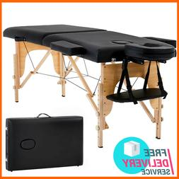 Massage Table Bed Facial Spa Portable Tattoo With Free Case
