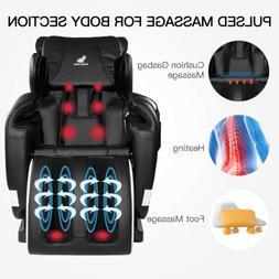 Electric Massage Chair Shiatsu Body Recliner Zero Gravity w/