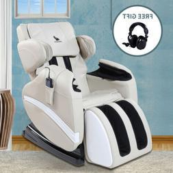 Massage Chair Full Body Zero Gravity Recliner w/Heat Stretch