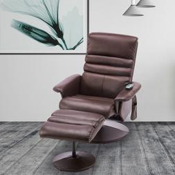 Modern Electric Leather Recliner Chair Massage Gaming Chair