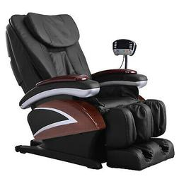 New Electric Full Body Shiatsu Massage Chair Recliner Heat S
