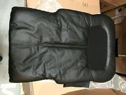New OEM Black Leather HT-125 Massage Chair Back Pad Cushion